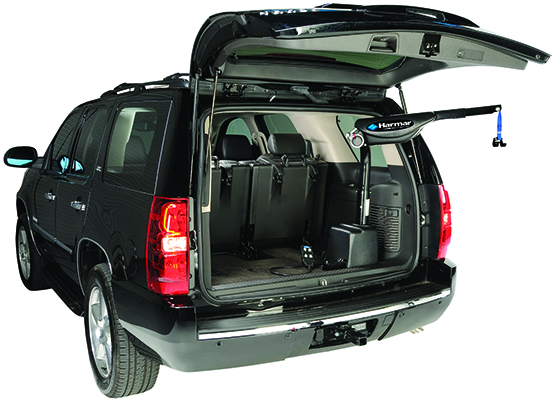 Inside Vehicle Lifts Mobility Plus